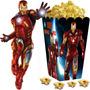 Kit Imprimible Ironman Iron Man Candy Bar Y Cotillon 2x1