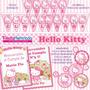 Kit Imprimible Hello Kitty, Decoraciones, Candy Bar, Cajitas