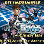 Kit Imprimible Max Steel Candy Bar Golosinas Tarjetas 2x1