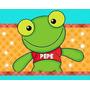 Kit Imprimible Sapo Pepe Y Pepa Diseña Invitaciones Cajitas