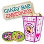 Kit Imprimible Candy Bar Enredados / Rapunzel - Editable