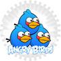 Kit Imprimible Angry Birds Candy Bar + Cumpleaños Etiquetas