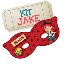 Kit Imprimible Candy Bar Jake Y Los Piratas - Editable