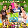 Kit Imprimible Teen Beach Movie Candy Bar Golosinas 2x1