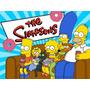 Kit Imprimible Los Simpson Diseña Tarjetas Cumpleanos #1