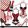 Kit Imprimible Despedida De Soltera Imagenes Clipart