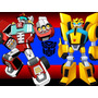 Kit Imprimible Candy Bar Transformers Rescue Bots Golosinas