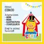 Kit Imprimible Decoración Para Fiestas Temáticas! Circo