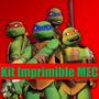 Kit Imprimible Tortugas Ninjas Edicion 2015 Completo 2x1
