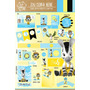 Kit Imprimible Personalizado Zou Cebra Candybar Y Deco!