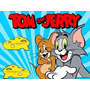 Kit Imprimible Tom Y Jerry Tarjetas Candy Bar 2x1 !!