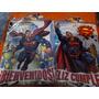 Cartel Bienvenido Y Cartel Feliz Cumpleaños Superman