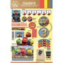 Kit Imprimible Personalizado Chuggington Candybar Y Deco!