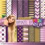 Kit Imprimible Pack Fondos Enredados Rapunzel Clipart