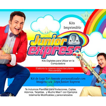 Kit Imprimible Topa Junior Express + Candy Bar