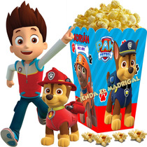 Kit Imprimible Patrulla D Cachorros Paw Patrol Candy Bar 2x1