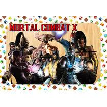 Kit Imprimible Mortal Combat X Por Calificar Obten Piñata