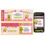 Kit Imprimible Sapa Pepa Rosa: Invitaciones, Candy Bar