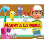 Kit Imprimible Manny A La Obra Cotillon Handy Mini Candy Bar