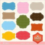 Kit Imprimible Pack Frames Etiquetas Label 41 Clipart