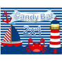 Kit Imprimible Nautico Marinero Candy Bar Golosinas Editable