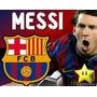 Kit Imprimible Barcelona Messi Diseñá Tarjetas, Cumples 2x1