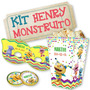 Kit Imprimible Henry Monstruito - Candy Bar - Cumpleños