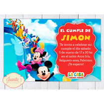 Kit Imprimible Mickey Y Amigos La Casa De Mickey Mouse Candy