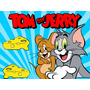 Kit Imprimible Tom Y Jerry Candy Bar Golosinas Tarjetas
