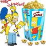 Kit Imprimible Los Simpsons Cotillon Cumpleaño Candy Bar 2x1