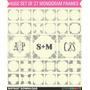 Kit Imprimible Pack Frames Etiquetas Label 12 Clipart