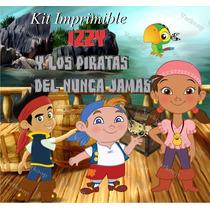 Kit Imprimible Izzy Y Los Piratas Del Nunca Jamas Fiesta Ar