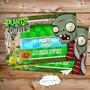 Kit Imprimible Plantas Versus Zombies