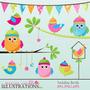 Kit Imprimible Buhos Y Lechuzas 19 Imagenes Clipart