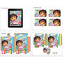 Kit Imprimible Candy Dora Exploradora - Editable #235 C/font