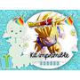 Kit Imprimible Dragon Ball Z Candybar Invitaciones