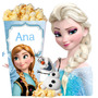 Kit Imprimible Frozen Invitaciones Candy Bar Cumples!! 2x1