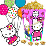 Kit Imprimible Hello Kitty Golosinas Candy Bar Cotillon 2x1