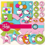 Kit Imprimible Hello Kitty Candy Bar Cumple