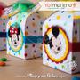 Kit Imprimible Caja La Casa De Mickey Minnie Pluto Goofy