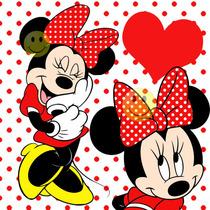 Kit Imprimible De Minnie Mouse Roja - Tarjetas - Candy Bar