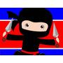Kit Imprimible Ninjas Candy Bar Golosinas Y Mas