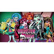 Kit Imprimible Monster High Cotillon + Candy Bar Imprimible