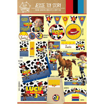 Kit Imprimible Jessie Toy Story Candy Bar Deco!