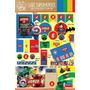 Kit Imprimible Lego Superheroes Hulk Batman Candy Bar Deco!