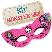 Kit Imprimible Monster High - Editable - Envio Gratis!!!
