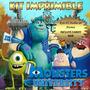 Kit Imprimible Monster University - Invitacion Candy Bar Mas