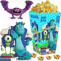 Kit Imprimible Monster Monsters University Inc Candy Bar 2x1