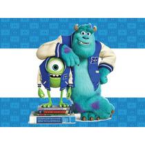 Kit Imprimible 2x1 Monsters University Invitacion Candy Coti
