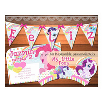 Kit Imprimible My Little Pony Mi Pequeño Pony Candy Bar